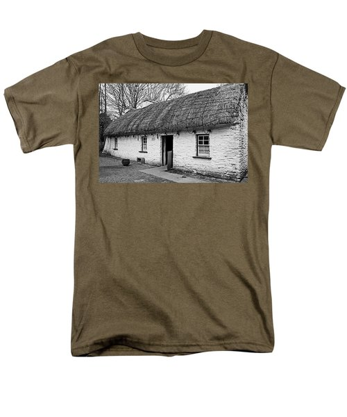 A Country Cottage Men's T-Shirt  (Regular Fit) by Martina Fagan