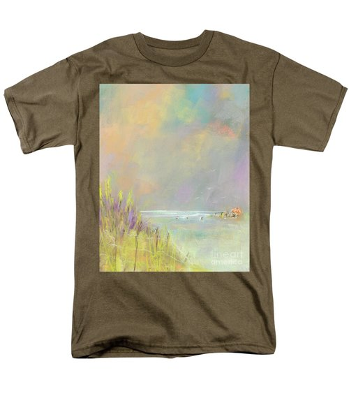 A Day At The Beach Men's T-Shirt  (Regular Fit) by Frances Marino