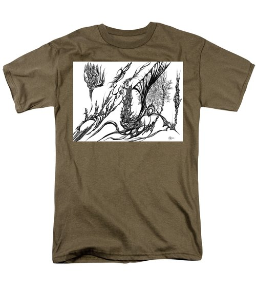 A Different Slant Men's T-Shirt  (Regular Fit) by Charles Cater