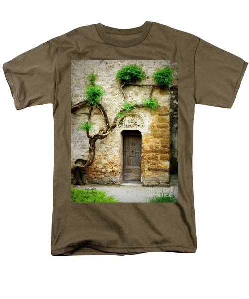 A Door In The Cloister Men's T-Shirt  (Regular Fit) by Lainie Wrightson