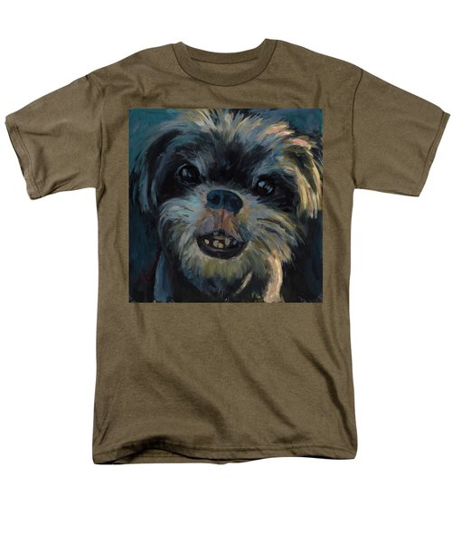 A Face Only A Mother Could Love Men's T-Shirt  (Regular Fit) by Billie Colson