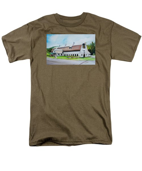 A Farmstand  In The Berkshires Men's T-Shirt  (Regular Fit) by P Anthony Visco