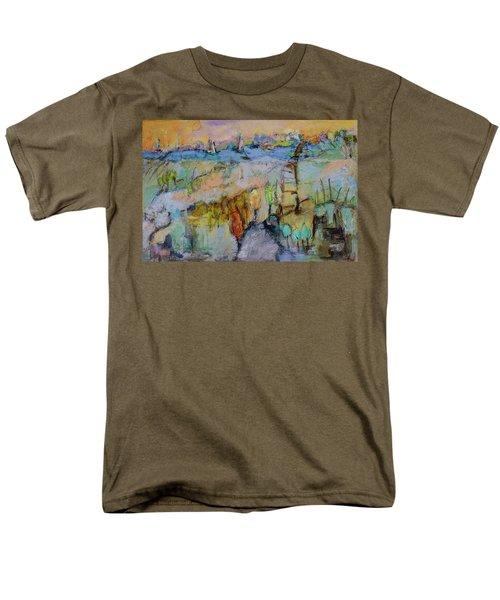 A Fine Day For Sailing Men's T-Shirt  (Regular Fit) by Sharon Furner