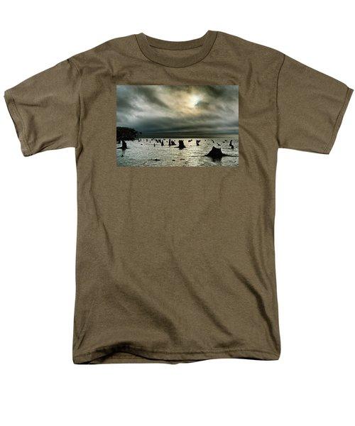 A Glimer Of Light Men's T-Shirt  (Regular Fit) by Robert Charity