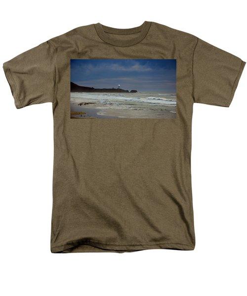 Men's T-Shirt  (Regular Fit) featuring the photograph A Guiding Light by Jim Walls PhotoArtist