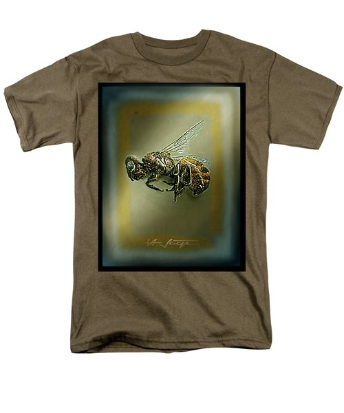 A Humble Bee Remembered Men's T-Shirt  (Regular Fit) by Hartmut Jager