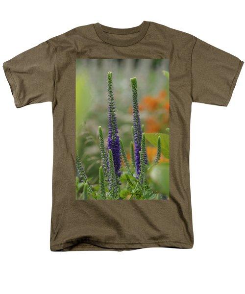 Men's T-Shirt  (Regular Fit) featuring the photograph A Lancaster Garden by Greg Graham