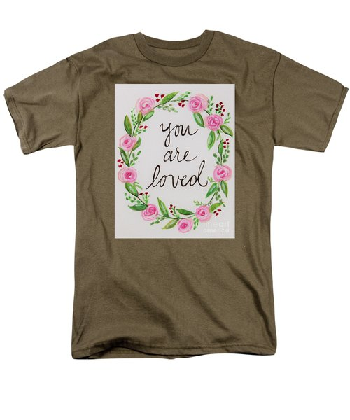 A Love Note Men's T-Shirt  (Regular Fit) by Elizabeth Robinette Tyndall