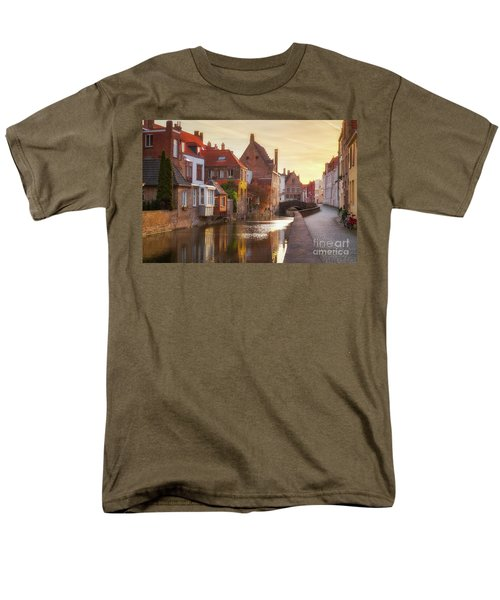 A Morning In Brugge Men's T-Shirt  (Regular Fit) by JR Photography