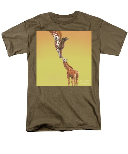 A Mother's Love Men's T-Shirt  (Regular Fit) by Thomas J Herring