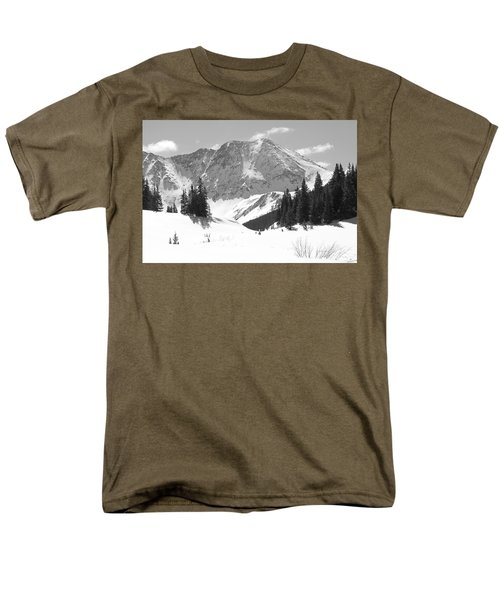 Men's T-Shirt  (Regular Fit) featuring the photograph A Mountain Is A Buddha by Eric Glaser