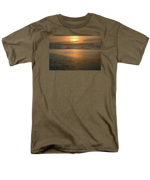 Men's T-Shirt  (Regular Fit) featuring the photograph A New Day Dawning by Renee Hardison