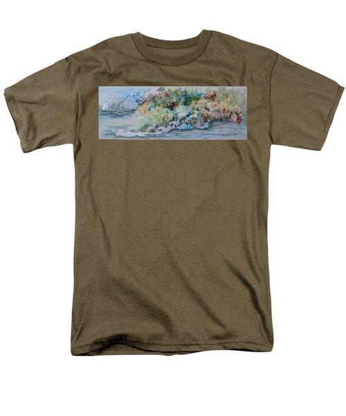 A Northern Shoreline Men's T-Shirt  (Regular Fit) by Joanne Smoley