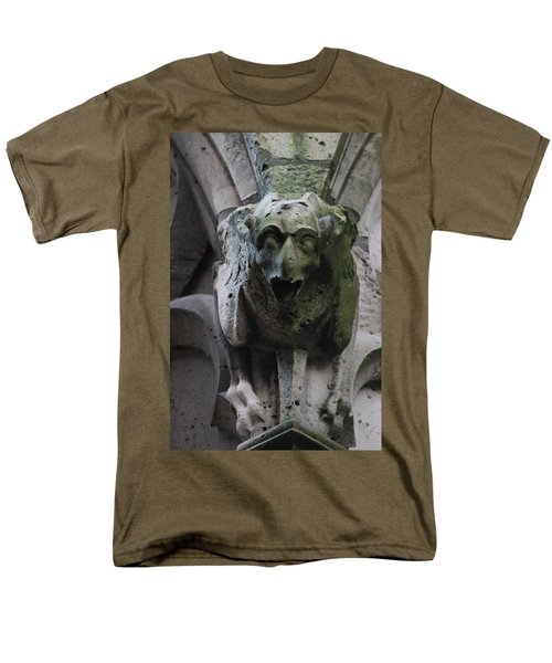 Men's T-Shirt  (Regular Fit) featuring the photograph A Notre Dame Griffon by Christopher Kirby