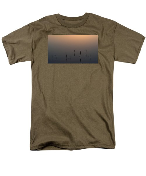 Men's T-Shirt  (Regular Fit) featuring the photograph A Quiet Morning On The Ponds by Monte Stevens