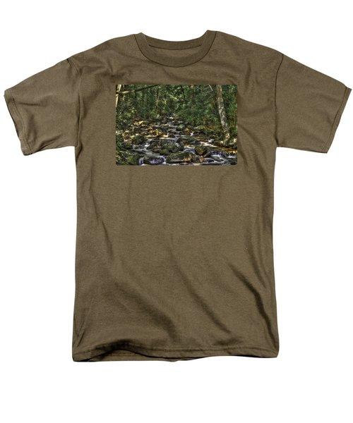 A River Through The Woods Men's T-Shirt  (Regular Fit)