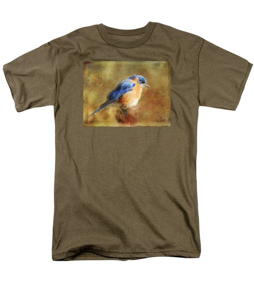 A Songbird In My Heart Men's T-Shirt  (Regular Fit) by Colleen Taylor