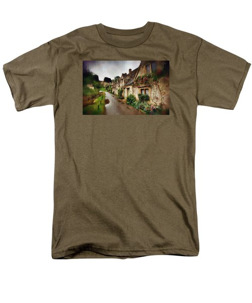 Men's T-Shirt  (Regular Fit) featuring the photograph A Stroll Down Memory Lane by Mario Carini