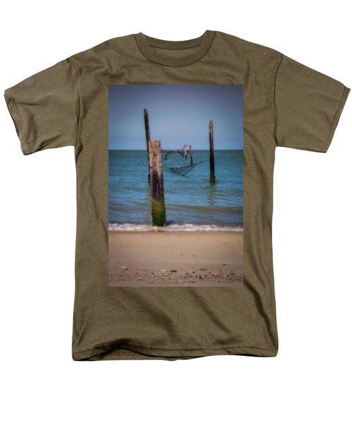 A Study Of Threes Men's T-Shirt  (Regular Fit) by David Cote