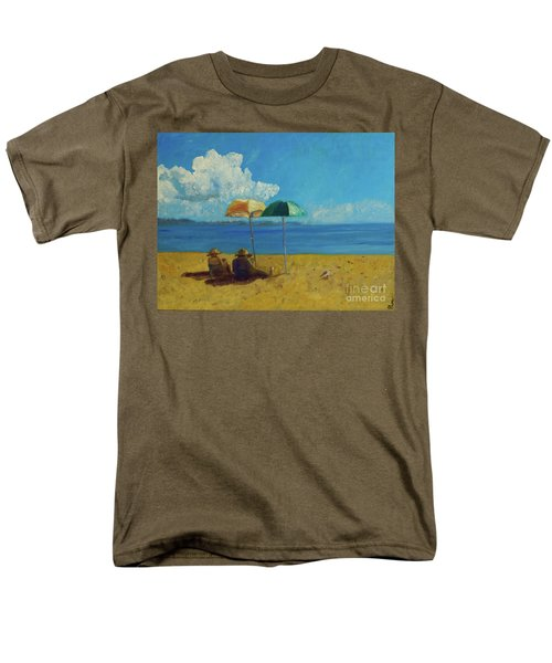 A Vacant Lot - Byron Bay Men's T-Shirt  (Regular Fit) by Paul McKey