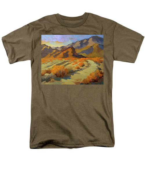 A Walk In La Quinta Cove Men's T-Shirt  (Regular Fit) by Diane McClary