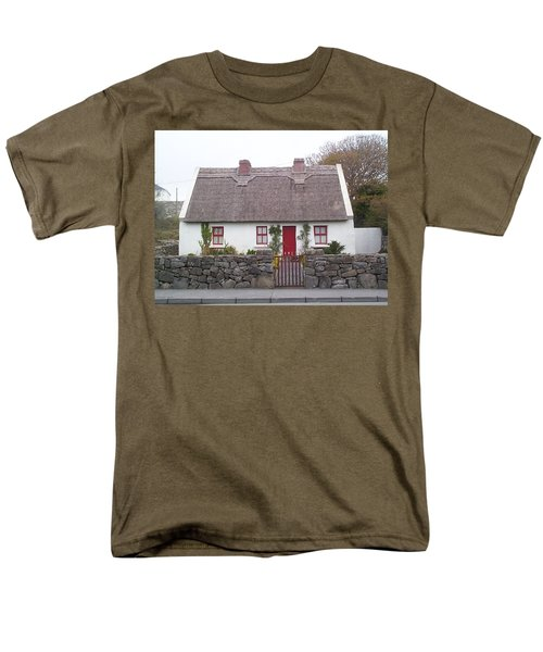A Wee Small Cottage Men's T-Shirt  (Regular Fit) by Charles Kraus