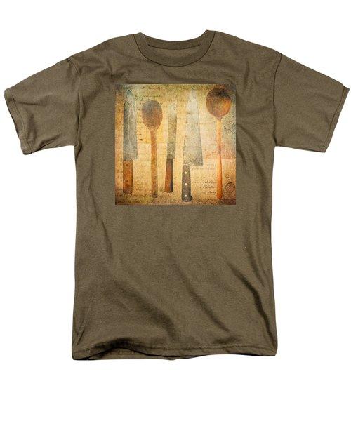 Men's T-Shirt  (Regular Fit) featuring the digital art A Woman's Tools by Lisa Noneman