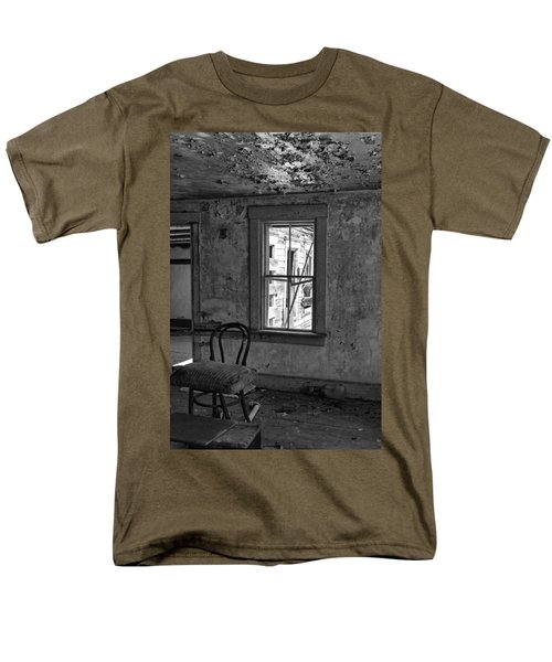 Abandon House Living Room Men's T-Shirt  (Regular Fit) by Betty Pauwels