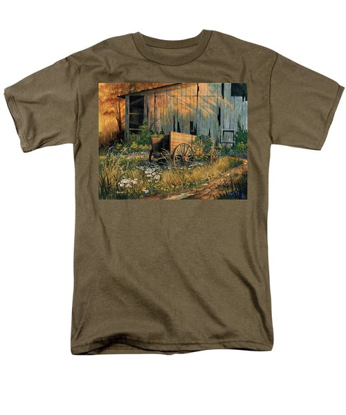 Abandoned Beauty Men's T-Shirt  (Regular Fit) by Michael Humphries