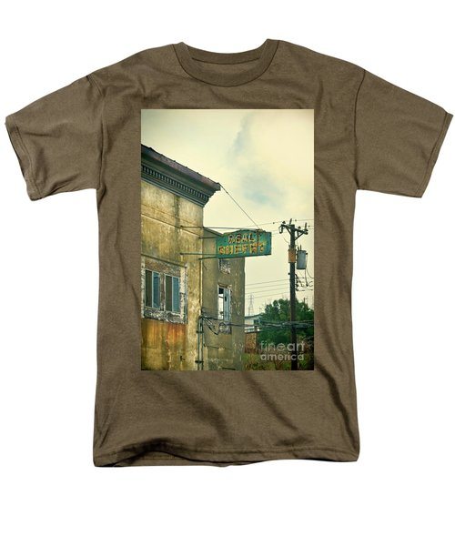 Men's T-Shirt  (Regular Fit) featuring the photograph Abandoned Building by Jill Battaglia