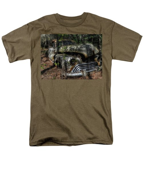 Men's T-Shirt  (Regular Fit) featuring the photograph Abandoned In Helvetia by Trey Foerster