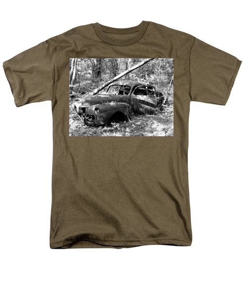 Men's T-Shirt  (Regular Fit) featuring the photograph Abandoned by Mark Alan Perry