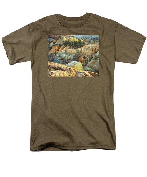 Abandoned Quarry 2 Men's T-Shirt  (Regular Fit) by Vladimir Kholostykh
