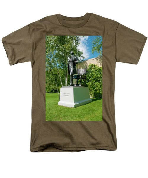 Men's T-Shirt  (Regular Fit) featuring the photograph Abe Hanging Out by Greg Fortier