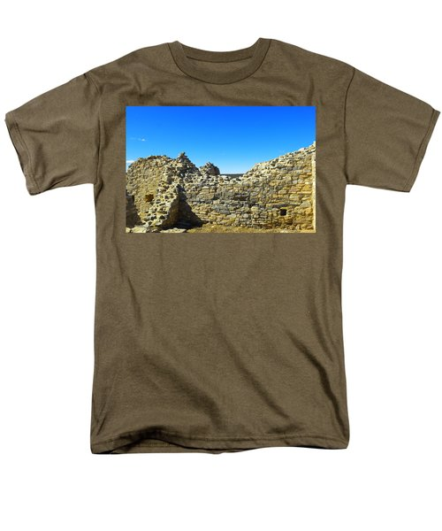 Men's T-Shirt  (Regular Fit) featuring the photograph Abo Mission Ruins New Mexico by Jeff Swan