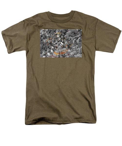 Men's T-Shirt  (Regular Fit) featuring the digital art Absorption by Leo Symon