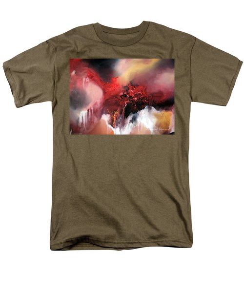 Abstract #02 Men's T-Shirt  (Regular Fit) by Raymond Doward