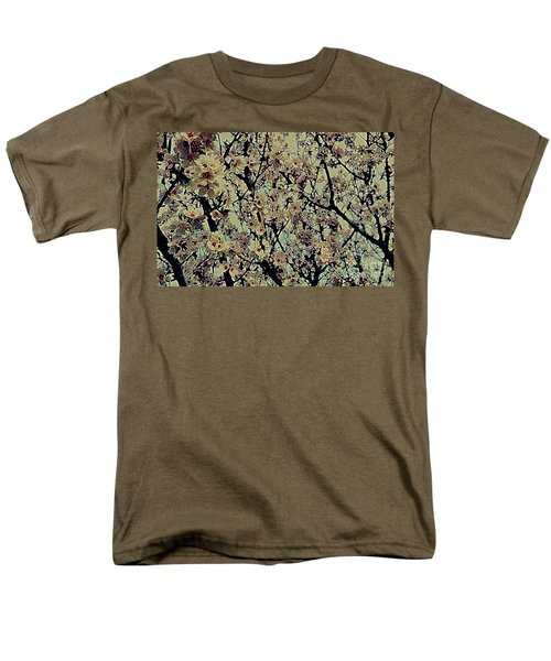 Abstract Blossoms Men's T-Shirt  (Regular Fit)