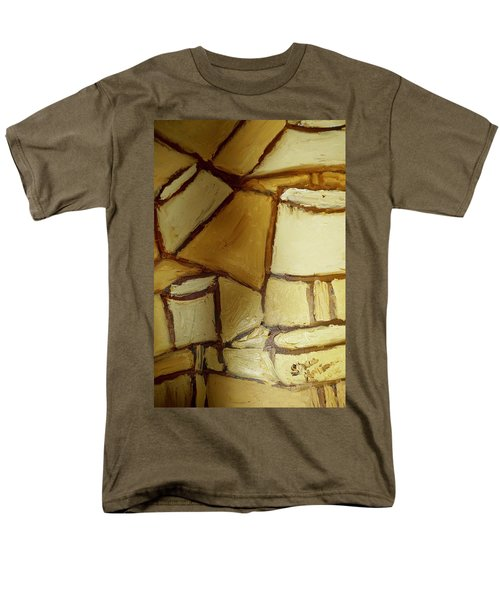 Abstract Lamp #1 Men's T-Shirt  (Regular Fit) by Shea Holliman