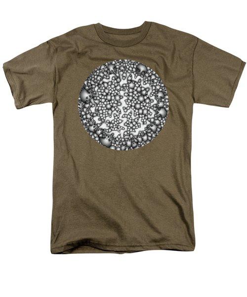 Abstract Macro Shapes Men's T-Shirt  (Regular Fit) by Phil Perkins