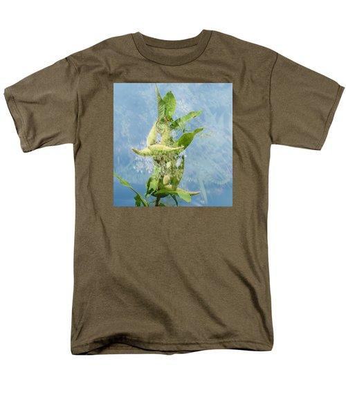 Abstract Milkweed Men's T-Shirt  (Regular Fit) by Jeanette Oberholtzer