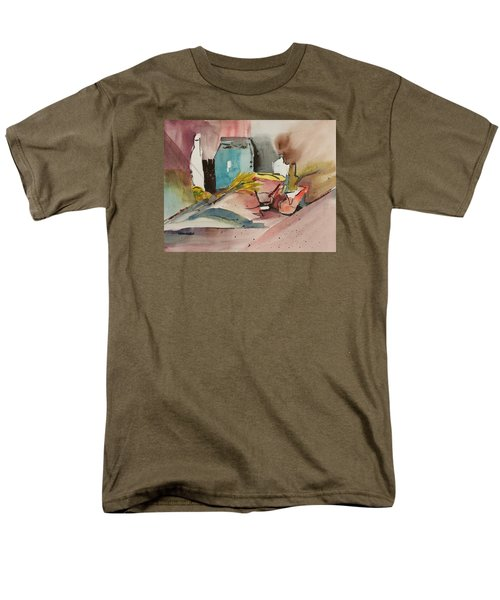 Abstract Opus 3 Men's T-Shirt  (Regular Fit) by Larry Hamilton