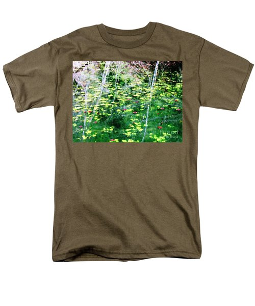 Men's T-Shirt  (Regular Fit) featuring the photograph Abstract Water by Melissa Stoudt