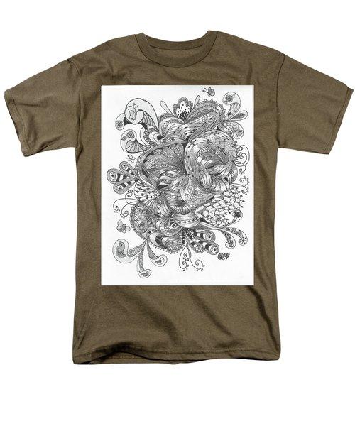 Abstract2 Men's T-Shirt  (Regular Fit) by Quwatha Valentine