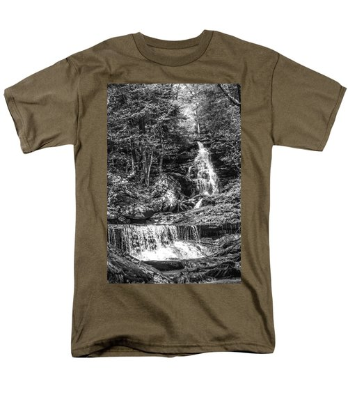 Adams Falls - 8867 Men's T-Shirt  (Regular Fit) by G L Sarti