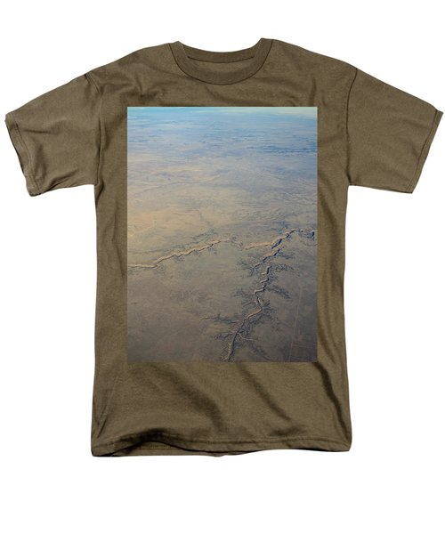 Men's T-Shirt  (Regular Fit) featuring the photograph Aerial 2 by Steven Richman