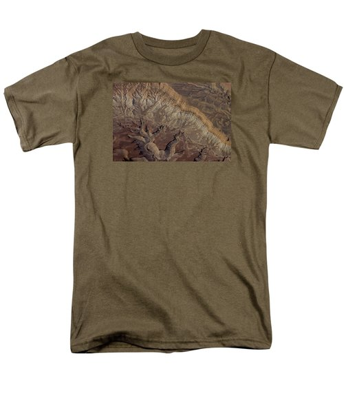 Aerial View Of Rock Formation Men's T-Shirt  (Regular Fit) by Ivete Basso Photography