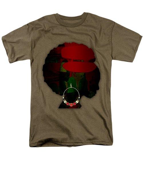 African Beauty Men's T-Shirt  (Regular Fit) by Marvin Blaine