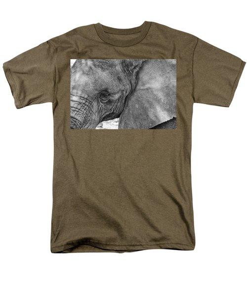 African Elephant  Men's T-Shirt  (Regular Fit) by Kevin Blackburn