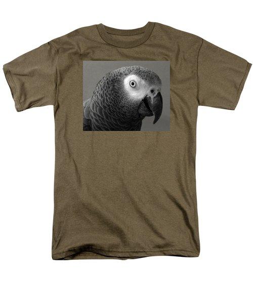 African Gray Men's T-Shirt  (Regular Fit) by Sandi OReilly